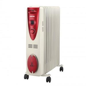 Geepas GRH28501 11 Fins Oil Filled Radiator Heater