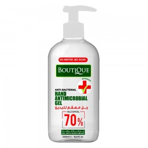 Botique Anti-Bacterial Hand Antimicrobial Gel, 500ml
