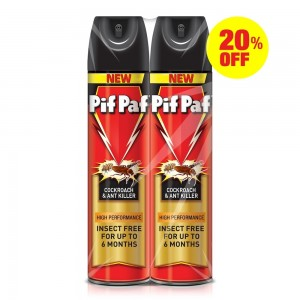 Pif Paf Power Guard Crawling Insect Killer, 400ml @20% OFF