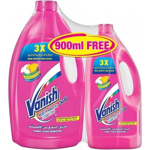 Vanish Stain Remover Pink 3L + 900ml