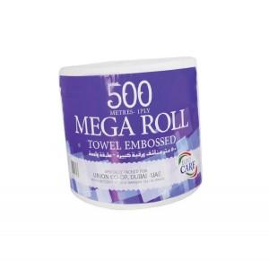 Euro Care Maxi Roll Jumbo White 500mtrs