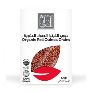 Dar Al Hay Organic Red Quinoa Grains, 320gm
