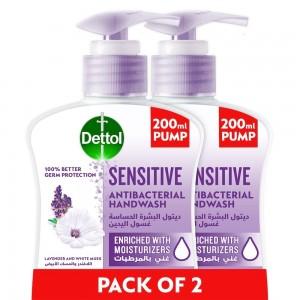 Dettol Hand Wash Sensitive 2 x 200ml
