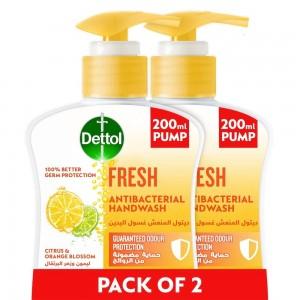 Dettol HW Fresh 200Ml Twin Pack