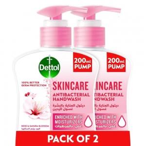 Dettol Hand Wash Skin Care 2 x 200ml