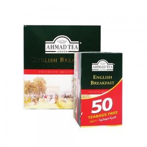 Ahmad Tea English Breakfast Tea Bag 100's + 50's