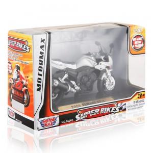 Motor Max Super Bikes - Silver/Black, 3 Years+