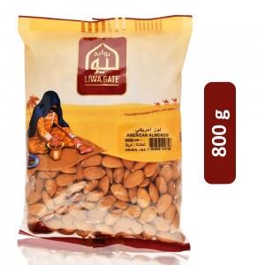Liwa Gate American Almonds - 800 g