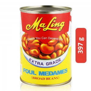 Ma Ling Foul Medames Broad Beans - 397 g