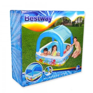 BWAY PLAY POOL WITH CANOPY