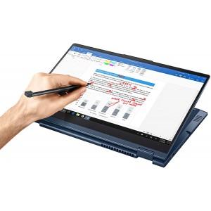 "Lenovo ThinkBook 14s Yoga x360 Touchscreen Laptop, 14"" Full HD, Core i7-1165G7, 16GB RAM, 512GB SSD, FP Reader, Windows 10 Pro - Abyss Blue"