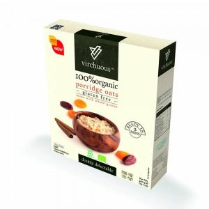 Virchous Porridge Oats Organic & Gluten Free, 400gm
