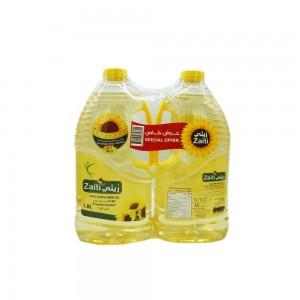 Zaiti 100% Sunflower Cooking Oil, 2x1.8 Ltr