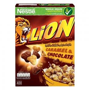 NESTLE LION Caramel Breakfast Cereal 400g