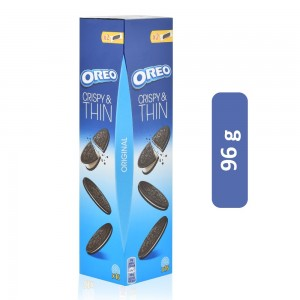 Oreo Crispy & Thin Biscuit - 96 g