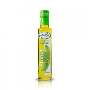 Basil Flavored Olive Oil 250ml