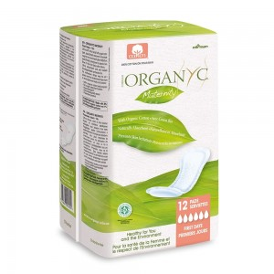 Organ(y)c Pads - First Days Maternity Pads 12 Pads