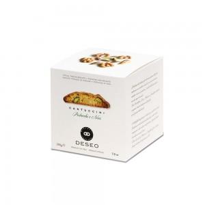 Deseo Cantuccini Walnut-Pistachio Box 200g