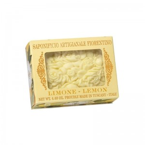 Colored Soap Lemon Soft Box w/ Window 125g