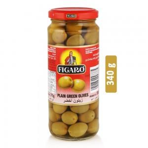 Figaro Plain Green Olives - 340 g