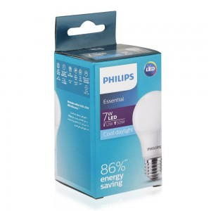 Philips Essential Enegry Saving LED Bulb - 7W, Cool Daylight