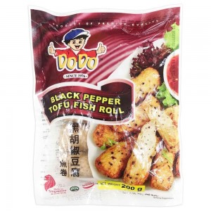 Dodo Black Pepper Tofu Fish Roll, 200gm