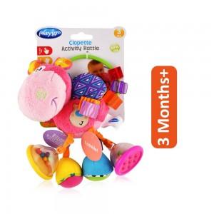 Playgro Clopette Activity Rattle - Multicolor, 3 Months+