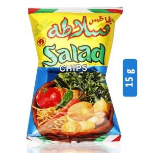 Salad Hot & Sour Flavor Potato Chips - 15 g
