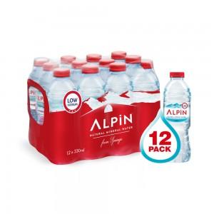 Alpin Low Sodium Water, 12x330ml