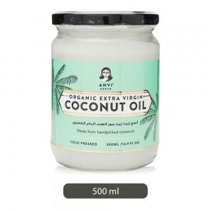 Anvi-Earth-Organic-Extra-Virgin-Coconut-Oil-500-ml_Hero