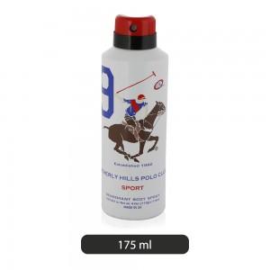 Beverly-Hills-Polo-Club-No-9-Sports-Deodorant-Body-Spray-For-Men-175-ml_Hero