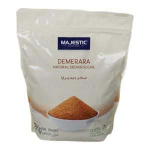 Majestic Demerara Nat Brown Sugar 2Kg