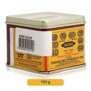 Bush Orange Red Food Color Powder - 100 g