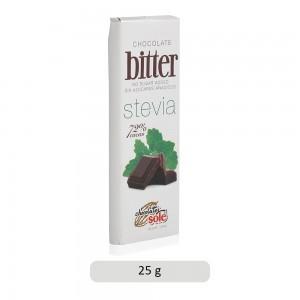 Chocolates Sole No Sugar Added Stevia Dark Chocolate Bar - 25 g