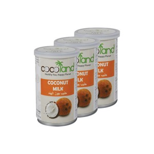Cocoland Coconut Milk Tin - 3x400ml