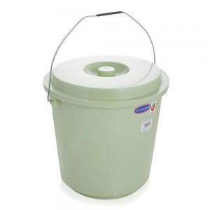 Cosmoplast Bucket With Lid - Green