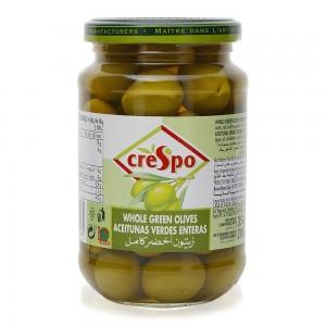 Crespo-Whole-Green-Olives-in-Brine-354-g_Hero