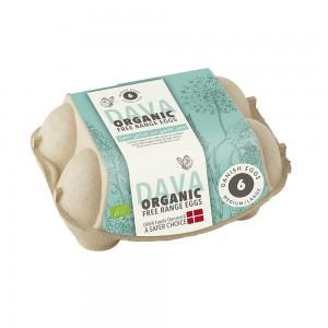 Dava Medium/Large Organic Free Range Eggs - 6's