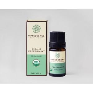 Rare Essence Organic Peppermint Essential Oil 5 ml