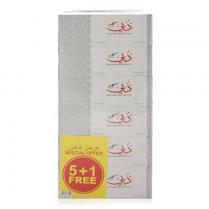 Dubai 2 Ply White Tissue - 6 x 200 Pieces