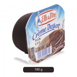 Elle & Vire Chocolate Flavor Cream Dessert - 100 g