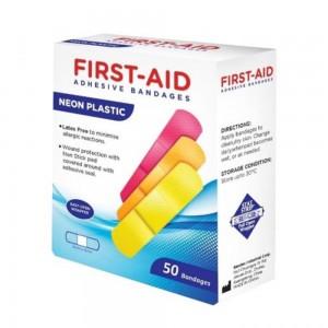 N Plastc Bandags50'S-19Mmx76Mm