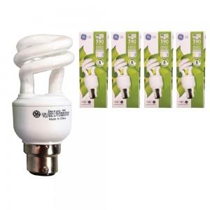 GE Energy Saving Lamp 9W B22 4pcs
