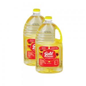 Gold Winner Sunflower Oil - 2x1.8Ltr
