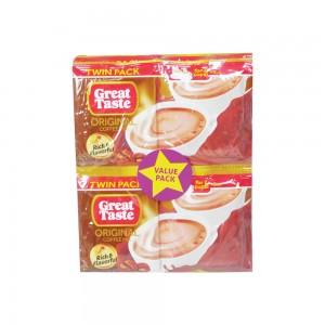 Greate Taste original 3In1 Coffee Mix - 12x33gm