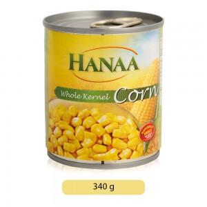 Hanaa Whole Kernel Corn - 340 g