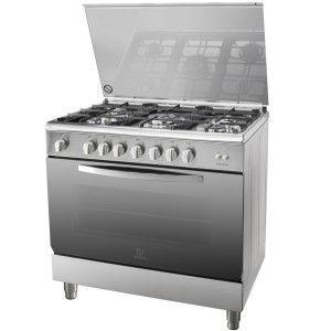 Indesit 90/60 Gas Cooker-Ci-F088210 I-95T1Cxex