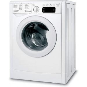 Indesit 7Kg Front Load Automatic Washing Machine White IWE-71251CECO-GCC
