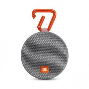 JBL CLIP2 Portable Bluetooth Speaker GREY