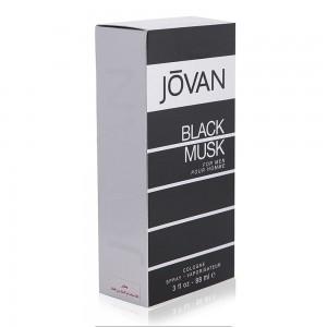 Jovan Black Musk Eau de Cologne for Men - 88 ml